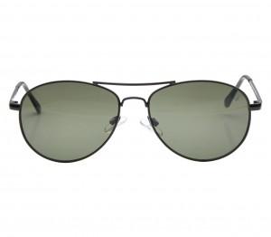 Aviator Green Metal Full Rim Medium Vision Express 12026 Sunglasses