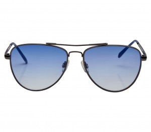 Aviator Blue Mirror Nickel Silver  Full Rim Medium Vision Express 12028 Sunglasses