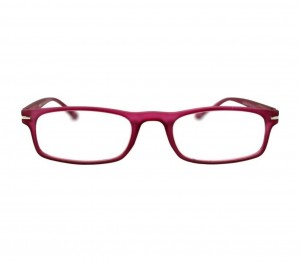 Pink Rectangle (+1.25 Power) Polycarbonate Medium HFDU02PN Reading Glasses