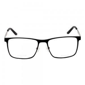 Full Rim Aluminium Rectangle Black Large Julius JUFM04 Eyeglasses