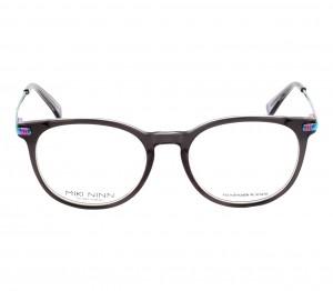 Full Rim Acetate Round Gun Metal Small Miki Ninn MNFF15 Eyeglasses