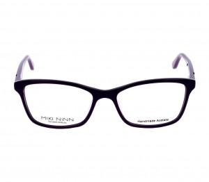 Full Rim Acetate Rectangle Violet Medium Miki Ninn MNFF07 Eyeglasses