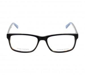 Full Rim Acetate Rectangle Blue Medium Miki Ninn MNEM08 Eyeglasses
