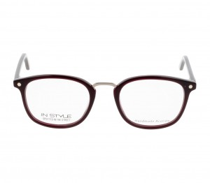 Full Rim Polycarbonate Round Violet Medium In Style ISFF05 Eyeglasses
