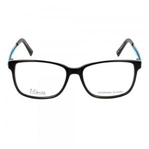 Full Rim Acetate Rectangle Black Large I-Switch SWCM01 Eyeglasses