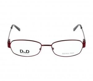 Full Rim Monel Almond Violet Medium DbyD DBCF03 Eyeglasses