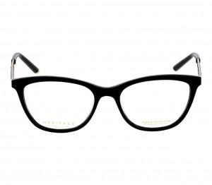 Full Rim Acetate Oval Black Small Heritage HEAF85 Eyeglasses