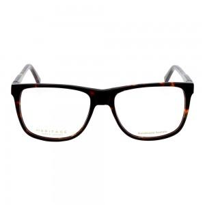 Full Rim Acetate Rectangle Brown Large Heritage HEBM00 Eyeglasses