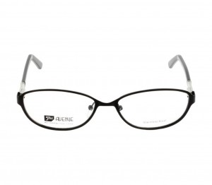 Full Rim Metal Round Black Medium 5th Avenue FADF46 Eyeglasses