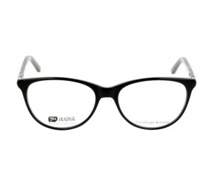 Full Rim Acetate Cat Eye Black Medium 5th Avenue FAFF10 Eyeglasses