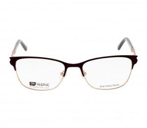 Full Rim Stainless Steel Rectangle Violet Medium 5th Avenue FAFF13 Eyeglasses