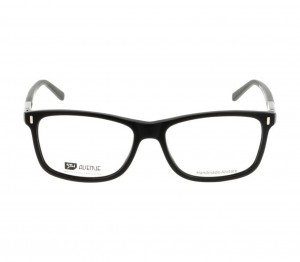 Full Rim Acetate Rectangle Black Large 5th Avenue FAAMI8 Eyeglasses