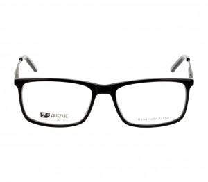 Full Rim Acetate Rectangle Black Medium 5th Avenue FAFM09 Eyeglasses
