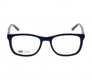 Full Rim TR90 Rectangle Blue Medium 5th Avenue FAFM11 Eyeglasses