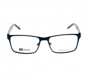Full Rim Stainless Steel Rectangle Blue Large 5th Avenue FACM02 Eyeglasses
