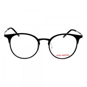Full Rim Ultem Square Black Medium Vision Express 49062 Eyeglasses