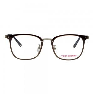 Full Rim Ultem Square Grey Medium Vision Express 29437 Eyeglasses