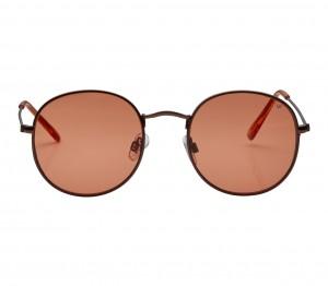 Round Orange Nickel Silver  Full Rim Small Vision Express 21656 Sunglasses
