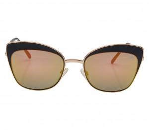 Cat eye Pink Stainless steel Full Rim Medium Vision Express 41291 Sunglasses