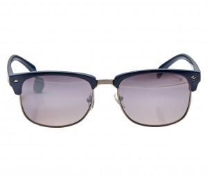 Rectangle Grey Metal Full Rim Medium Vision Express 21629 Sunglasses