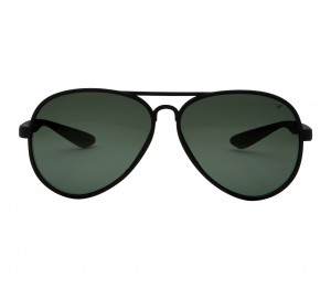 Aviator Polarised Lens Green Full Rim Medium Vision Express 12025P Sunglasses