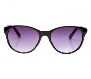 Round Grey Gradient Polycarbonate Full Rim Medium Vision Express 41303 Sunglasses