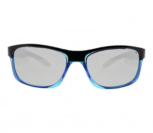 Rectangle Blue Gradient Polycarbonate Small Vision Express 51091 Kids Sunglasses
