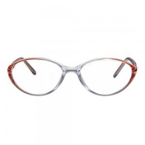 Full Rim Polycarbonate Oval Black Medium Vision Express 31804 Eyeglasses