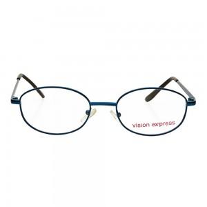 Full Rim Metal Round Blue Medium Vision Express 31805 Eyeglasses