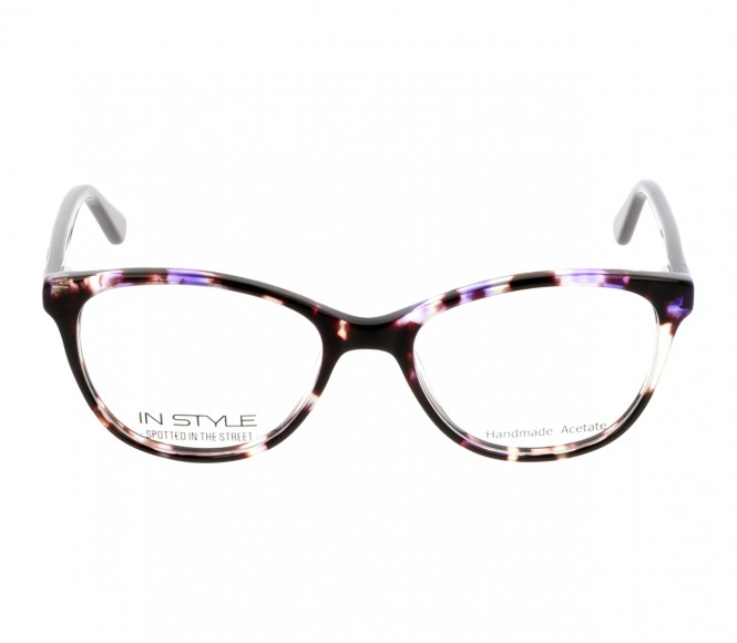 Full Rim Acetate Almond Blue Small In Style ISFT05 Eyeglasses