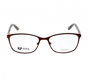 Full Rim Titanium Almond Brown Medium 5th Avenue FAFF11 Eyeglasses