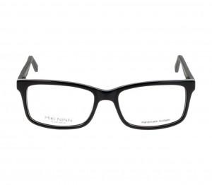 Full Rim Acetate Rectangle Grey Medium Miki Ninn MNDM06 Eyeglasses