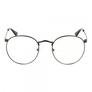 Full Rim Metal Round Grey Small Seen SNHM01 Eyeglasses