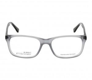 Full Rim Acetate Rectangle Grey Small Be Bright BBHM02 Eyeglasses