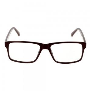 Full Rim Propionate Rectangle Red Small Seen SNGM05 Eyeglasses