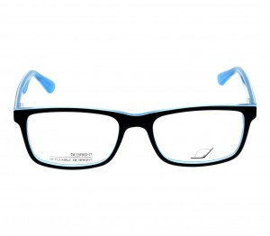 Full Rim Acetate Rectangle Blue Small Be Bright BBBM28 Eyeglasses