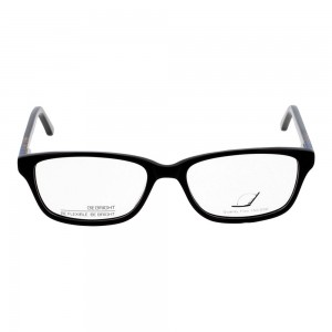 Full Rim Acetate Rectangle Black Small Be Bright BBDF19 Eyeglasses