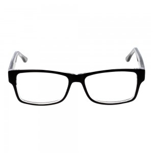 Full Rim Acetate Rectangle Black Small Seen SNBF09 Eyeglasses