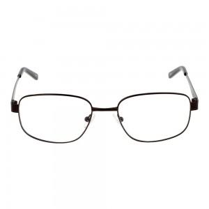 Full Rim Monel Rectangle Grey Small Seen SNDM02 Eyeglasses