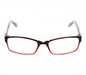 Full Rim Acetate Rectangle Red Small Seen SNDF04 Eyeglasses