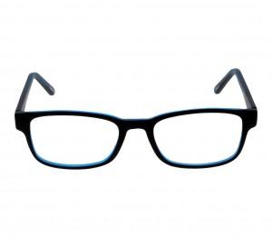 Full Rim Acetate Rectangle Black Small The One TOEM10 Eyeglasses