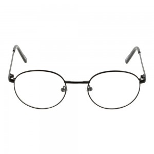 Full Rim Metal Round Black Small Seen SNEM12 Eyeglasses