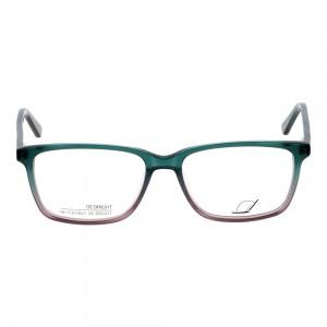 Full Rim Acetate Rectangle Green Small Be Bright BBFM07 Eyeglasses