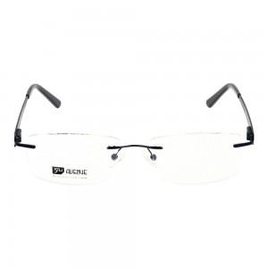 Rimless Monel Rectangle Blue Large 5th Avenue FAHM25 Eyeglasses