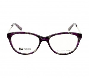 Full Rim Acetate Almond Violet Medium 5th Avenue FAHF12 Eyeglasses