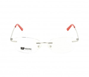 Rimless Monel Almond Silver Medium 5th Avenue FAHF15 Eyeglasses