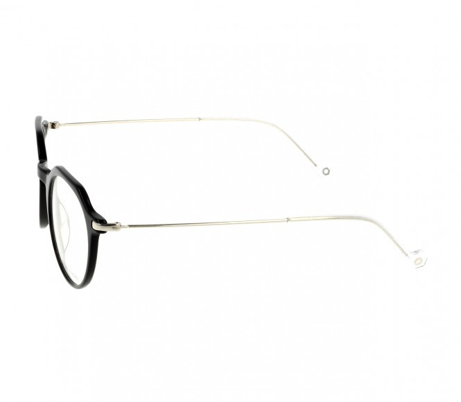 Full Rim Acetate Round Black Medium In Style ISHM04 Eyeglasses