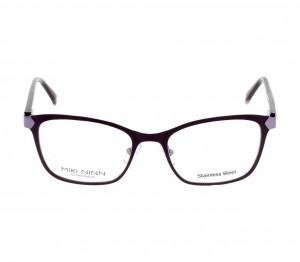 Full Rim Stainless Steel Cat Eye Violet Medium Miki Ninn MNHF24 Eyeglasses