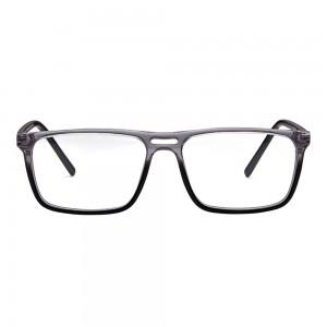 Full Rim Acetate Rectangle Black Medium Vision Express 29463 Eyeglasses