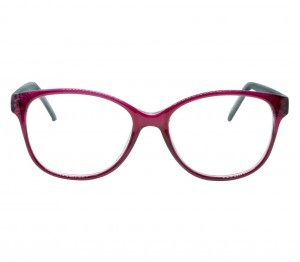 Full Rim Polycarbonate Oval Purple Medium Vision Express 49079 Eyeglasses